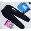 Спортивные брюки утепленные черные