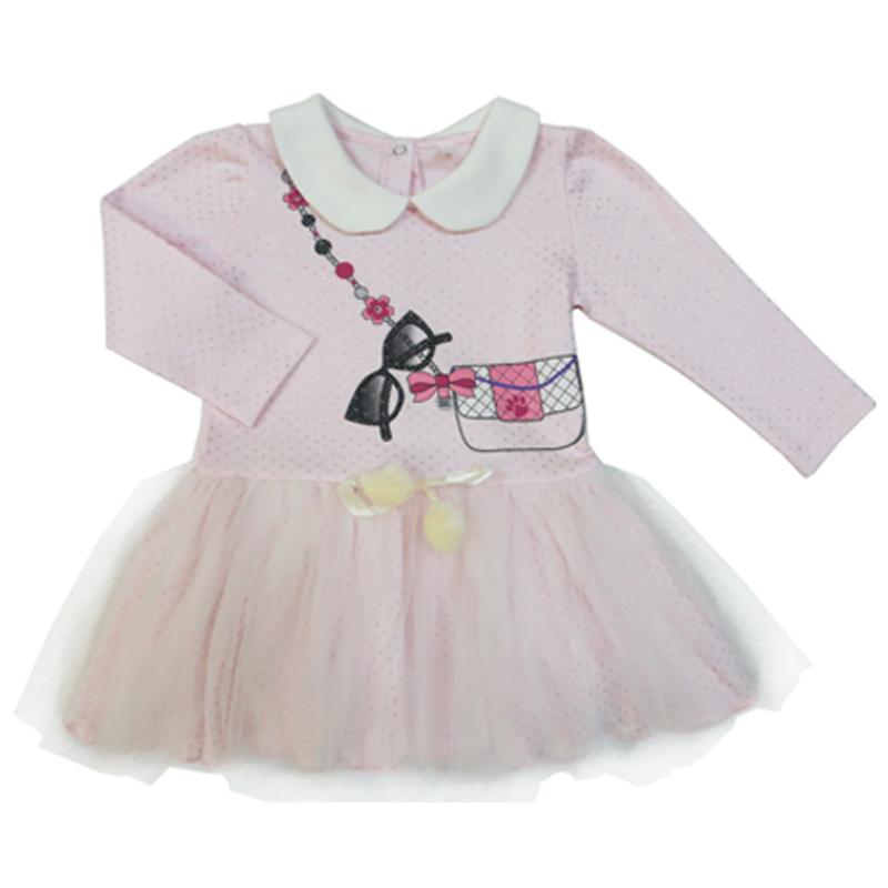 Платье Sonia Kids Парижские каникулы, цвет: розовый