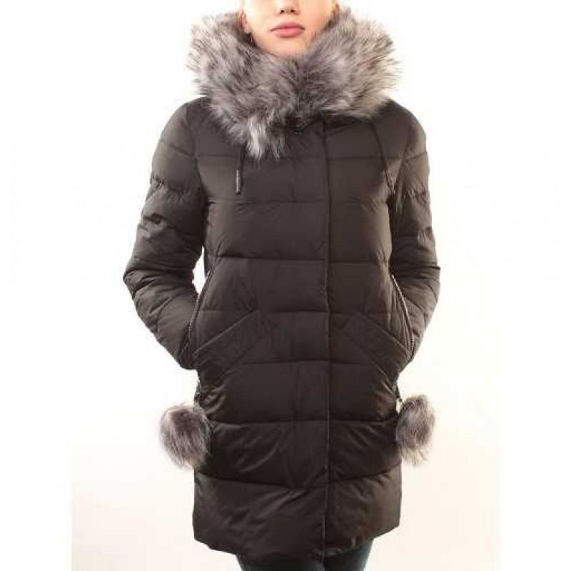 Пальто зимнее черное р.50